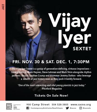Vijay Iyer at Contemporary Arts Center