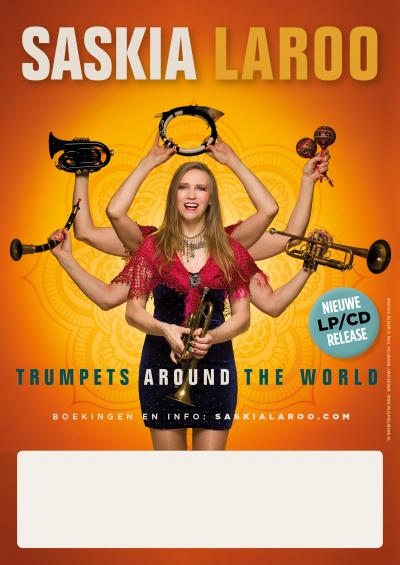 Saskia Laroo Band & Trumpets Around The World at Hartford Public Library