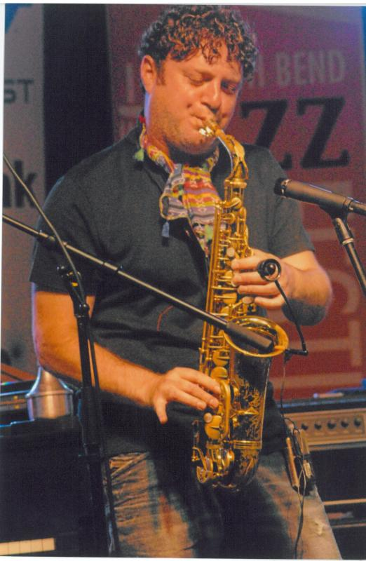 Saxophonist Danny Lerman Appears At Chicago's Underground Wonderbar on August 31st