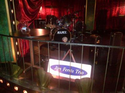 Jim Ferris Trio at C Grace Jazz Club