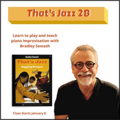 Bradley Sowash at Online Jazz Piano Courses