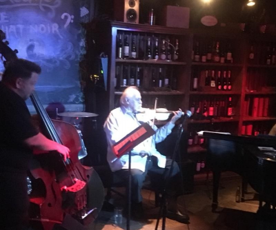 Federico Britos Trio Downstairs In The Cellar at Le Chat Noir De Salis