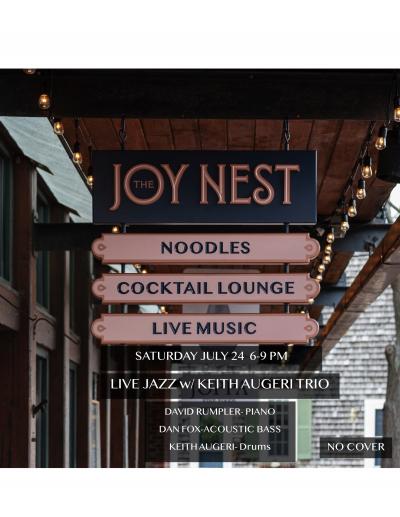 Keith Augeri Trio at Joy Nest