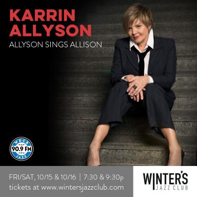 Karrin Allyson at Winter's Jazz Club