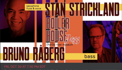 Stan Strickland / Bruno Raberg Duo at Charles River Museum Of Industry & Innovation