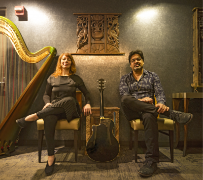 OASIS: feat. Rez Abbasi & Isabelle Olivier with Michael Sarin at Firehouse 12