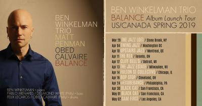 Ben Winkelman Trio at Upstairs Jazz Bar & Grill