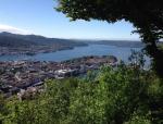Bergen Fløyen Mountain View