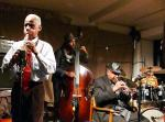 Roscoe Mitchell, Junius Paul, Hugh Ragin and Famadou Don Moye at Cafe Oto, London in February 2017