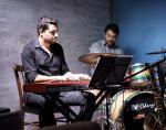 Adaury Mothe and Paulo Diniz with the Thiago Trajano Quinteto at the Aqua Bossa Lounge in Rio de Janeiro, Brazil