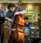 Domenic Botelho with the Guilherme Dias Gomes Quintet at Triboz in Rio de Janeiro
