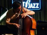 Thomas Morgan at Gent Jazz Club in October 2014
