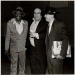 WC Clark, Clifford Antone and Stevie Ray Vaughan