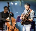 Jorge Oscar And Thiago Trajano With Thiago Trajano Quinteto At The Aqua Bossa Lounge In Rio De Janeiro, Brazil