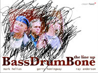 BassDrumBone: The Line Up