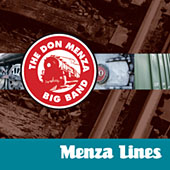 The Don Menza Big Band: Menza Lines