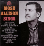 "Read ""Mose Allison Sings"" reviewed by"