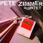 Burnin' Live at the Jazz Standard by Pete Zimmer