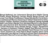 Swedish Jazz: Watch Out! Swedish Jazz Volume 10, 1965-1969