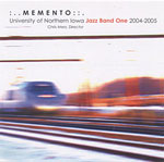 Album Memento by University of Northern Iowa Jazz Band One