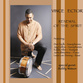 Album Renewal of The Spirit by Vince Ector