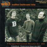 Walter Beltrami Trio: WB3