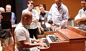Dr. Lonnie, Monaco & Gibbs: Hope College's Jazz Organ Summit