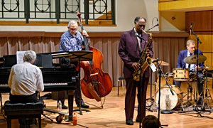 Read Houston Person with the John Toomey Trio at Old  Dominion University