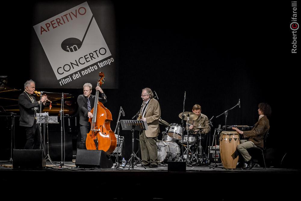 David Amram Quintet al Teatro Manzoni di Milano