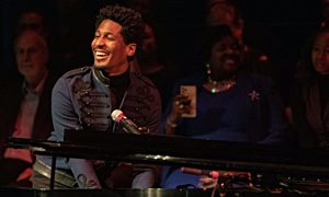 Interview with Jon Batiste in Concert at Sandler Center for the Arts