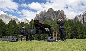 Interview with Fabrizio Bosso & Julian Oliver Mazzariello 'Tandem' at the Ciampedie