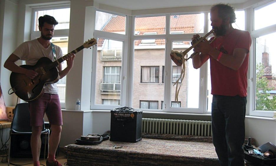 Live From Flanders: Bart Maris, Jasper Stadhouders, Joachim Badenhorst & Jan Devlieger
