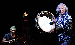 "Read Hamid Drake with Alfio Antico and Alberto Balia at ""Ai Confini tra Sardegna e Jazz 2020"""
