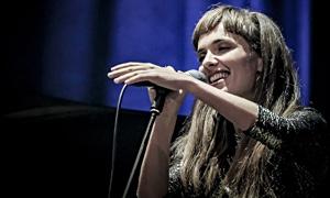 Camille Bertault at JazzMi 2018