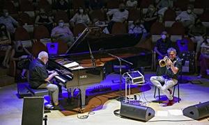 Interview with Roberto Cipelli & Paolo Fresu l'Equilibrio di Nash at Cremona Jazz Festival 2021