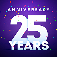 "Read ""Celebrating 25 years online!"" written by Michael Ricci"