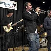 "Read ""Simone Alessandrini quintet  at Dolomiti ski jazz 2019"" reviewed by Danilo Codazzi"