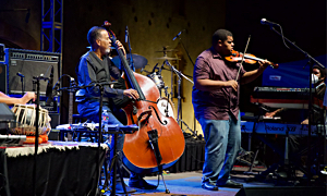 Interview with The Stanley Clarke Band At Blue Note At Charles Krug Estate
