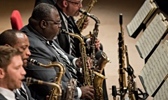 Interview with Jazz at Lincoln Center Orchestra with Wynton Marsalis at Mechanics Hall
