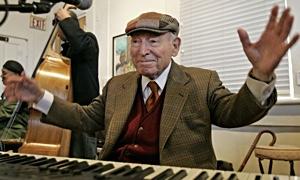 Jazz article: George Wein: Dinosaur Walks the Earth