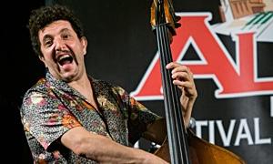 Read Omer Avital Quintet at Alba Jazz Festival