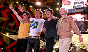 Jazz article: The Rolling Stones: A Bigger Bang: Live on Copacabana Beach DVD/CD