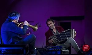 Paolo Fresu & Daniele Di Bonaventura at Borgo Marconi Auditorium