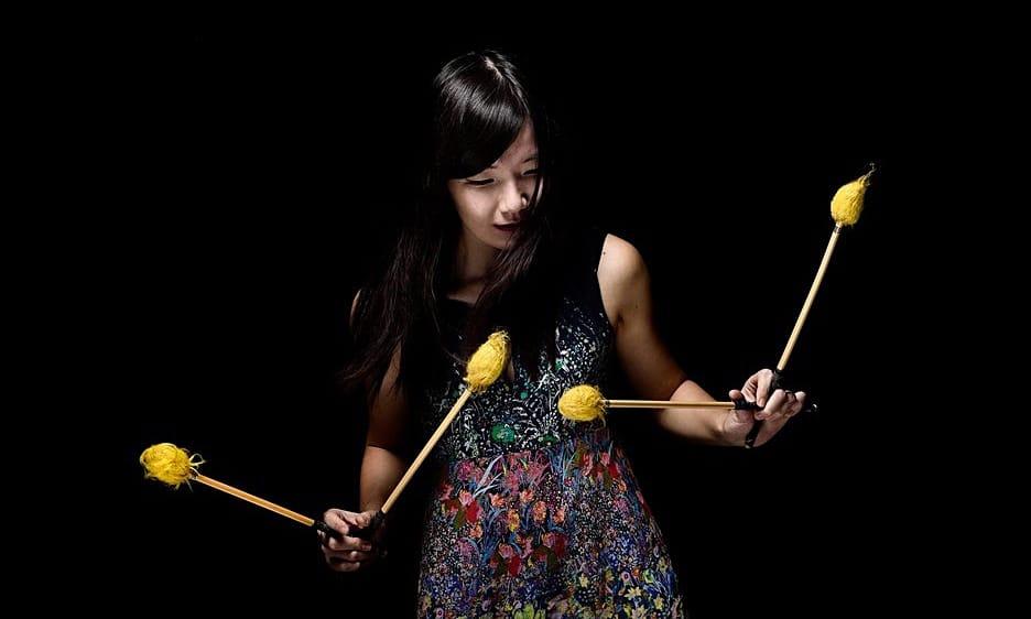 Yuhan Su: Sun-Chaser On Vibraphone