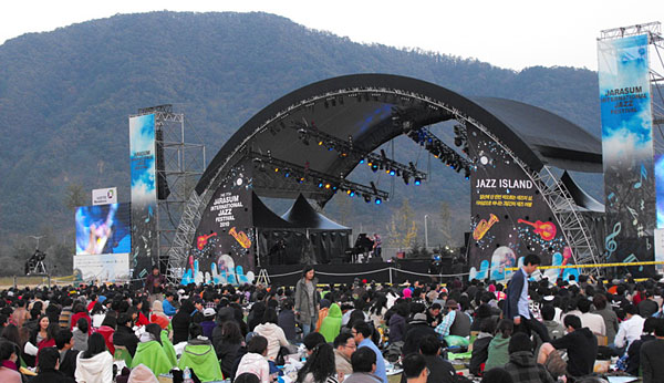 2010 Jarasum Jazz Festival, Gapeyong, South Korea