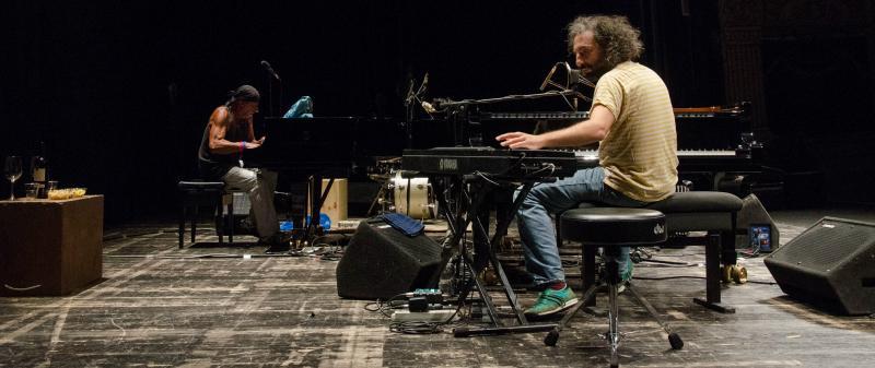 Stefano Bollani e Antonello Salis al Ravenna Jazz Festival
