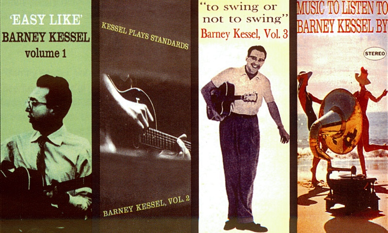 Barney Kessel: The First Four Albums