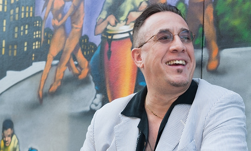 Bobby  Sanabria Spreads The  Latin Jazz Gospel