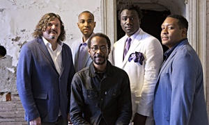 Interview with Brian Blade and the Fellowship Band at Sculler's Jazz Club