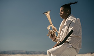 Jazz article: Christian Scott aTunde Adjuah at Yoshi's